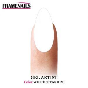 Gel Artist Paint White Titanium