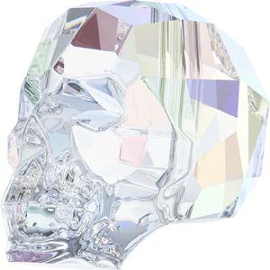Skull Bead Crystal AB (l'unité)