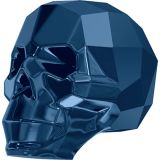 Skull Bead Crystal Metallic Blue (l'unité)