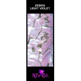 Luxury Shell Wrap Zebra Light Violet