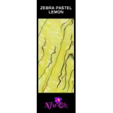 Luxury Shell Wrap Zebra Pastel lemon