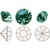 Chatons Emerald PP3-SS0 1mm (50pcs)