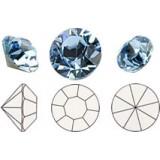 Chatons Aquamarine PP3-SS0 1mm (50pcs)