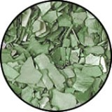 Luxury Crushed Shell Stone Green (Boite 5gr)