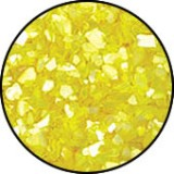 Luxury Crushed Shell Stone Yellow (Boite 5gr)