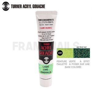Lamé Lime Emerald Turner 228 (20ml)