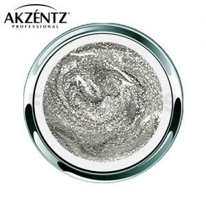 Gel Play Glitter Cosmic Silver
