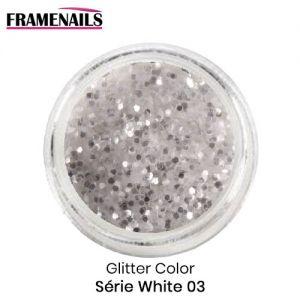 Glitter Color Série White 03