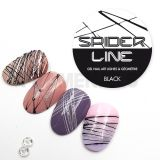 Gel Spider Line Black
