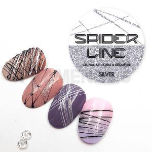 Gel Spider Line Silver
