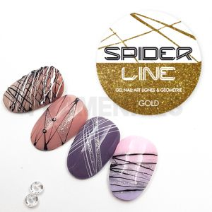 Gel Spider Line Gold