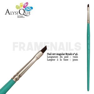 Pinceau Oxa Nails Angular N°4L