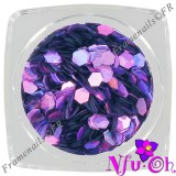 Diamond Glitter L-Hologram Violet