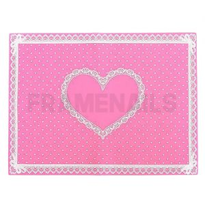 Tapis de Table Silicone Pink