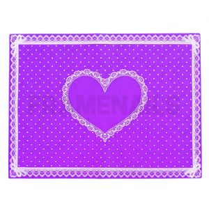 Tapis de Table Silicone Purple