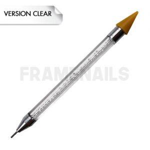Strass Picker Double Embout Clear