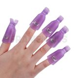 Pince Nail Soaker Purple (x10pcs)