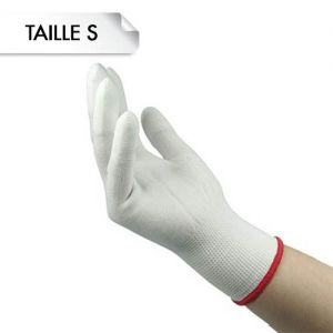 Gants Épais Blanc S