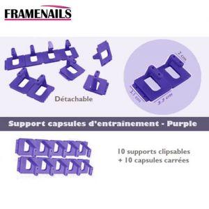 Support pour Capsules Clipsables Purple