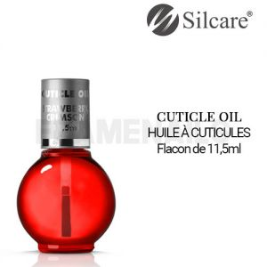Huile Cuticules Crimson Strawberry Pinceau 11.5ml