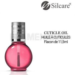 Huile Cuticules Raspberry Light Pink Pinceau 11.5ml