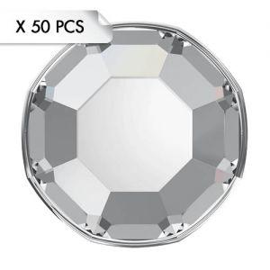 Mini Strass SS3 Crystal (50pcs)