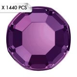 Mini Strass SS3 Amethyste (1440pcs)