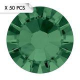 Strass SS5 Emerald (50pcs)