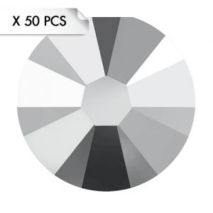 Strass SS9 Crystal Light Chrome (50pcs)