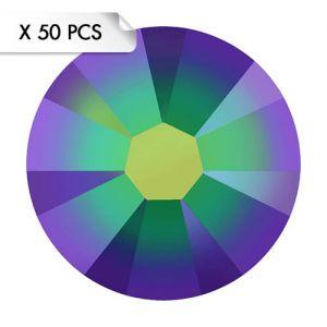 Strass SS9 Crystal Scarabaeus Green (50pcs)