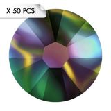 Strass SS9 Crystal Rainbow Dark (50pcs)