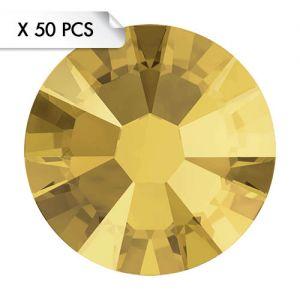 Strass SS9 Crystal Metallic Sunshine (50pcs)