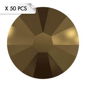 Strass SS9 Crystal Dorado (50pcs)