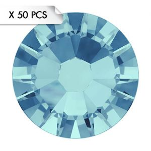 Strass SS9 Aquamarine (50pcs)