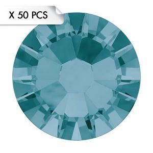 Strass SS9 Blue Zircon (50pcs)