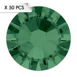 Strass SS9 Emerald (50pcs)
