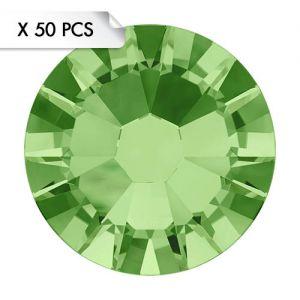 Strass SS9 Peridot (50pcs)