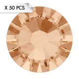 Strass SS9 Light Peach (50pcs)