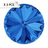 Rivoli SS39 Sapphire (x5pcs)