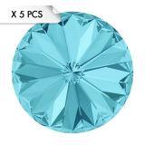Rivoli SS39 Light Turquoise (x5pcs)