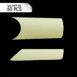 Tips Perfect C-Curve Natural Taille 9 (50pcs)