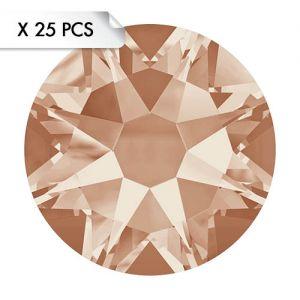 Strass SS20 Light Peach (25pcs)