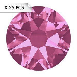 Strass SS20 Rose (25pcs)