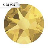 Strass SS16 Crystal Metallic Sunshine (25pcs)
