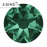 Strass SS12 Emerald (25pcs)