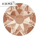 Strass SS12 Light Peach (25pcs)