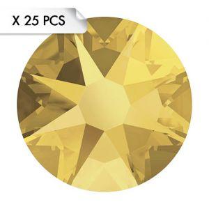 Strass SS12 Crystal Metallic Sunshine (25pcs)