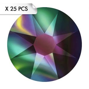Strass SS12 Crystal Rainbow Dark (25pcs)