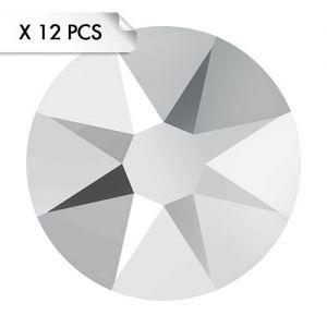Strass SS30 Crystal Light Chrome (12pcs)