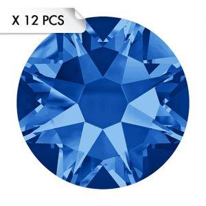 Strass SS30 Sapphire (12pcs)